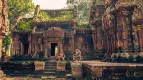 Ankor a cidade perdida Fotos de Stock