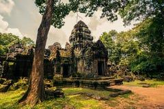 Ankor la ciudad perdida Imágenes de archivo libres de regalías