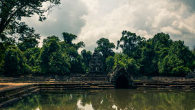 Ankor the lost city Royalty Free Stock Photo