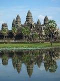 Ankor Wat,暹粒,柬埔寨 免版税图库摄影