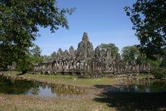 Ankor Wat,柬埔寨 免版税库存图片
