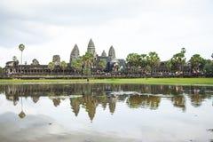 Ankor Wat,柬埔寨 免版税库存照片