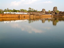 Ankor Wat, Καμπότζη Στοκ φωτογραφία με δικαίωμα ελεύθερης χρήσης