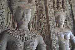 Ankor Wat, Камбоджа Стоковые Изображения
