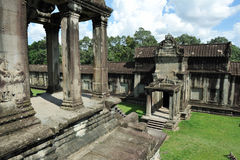 Ankor Wat. Angkor Wat Temple in Cambodia - Angkor Wat was the Seat of the 12th Century Khmer Empire Stock Photo