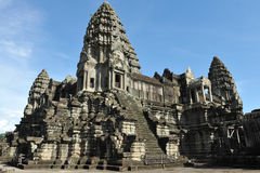 Ankor Wat. Angkor Wat Temple in Cambodia - Angkor Wat was the Seat of the 12th Century Khmer Empire Royalty Free Stock Photos