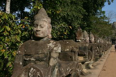 Ankor Wat, Cambodia Royalty Free Stock Photography