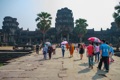 Ankor Wat, Siem Reap, Cambodge Photo stock
