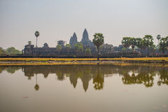 Ankor Wat, Siem Reap, Cambodge Images libres de droits