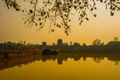 Ankor Wat, Siem Reap, Cambodja Fotografering för Bildbyråer