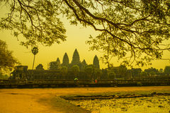 Ankor Wat, Siem Reap, Cambogia Fotografia Stock Libera da Diritti