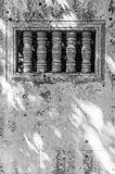 Ankorian świątyni okno Zdjęcia Stock