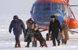 Ankunfts-Kommission auf Wahlen in der Expedition Lizenzfreies Stockbild