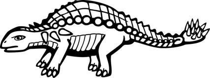 Ankylosaurus Illustration de Vecteur