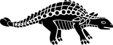 Ankylosaurus Stock Afbeeldingen