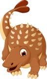 Ankylosaurus Dinosaur cartoon Stock Photography