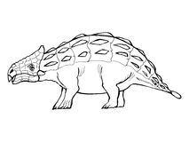 Ankylosaurus Royalty Free Stock Photos