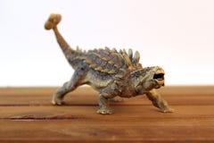 Ankylosaurus. Photo of Ankylosaurus dinosaur toy with white background Royalty Free Stock Images