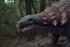 Ankylosaurusdinosaurus stock foto