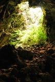 Anlage in der Höhle Stockbild
