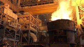 Anlage für die Produktion des Metalls stockbilder