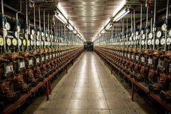 Anlage für die Produktion von Zugbremsen stockfotografie