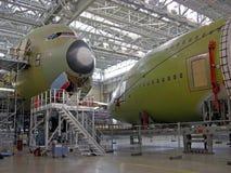 Anlage für Flugzeuge. Stockbilder