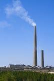 Anlage mit blauem Himmel Stockfoto