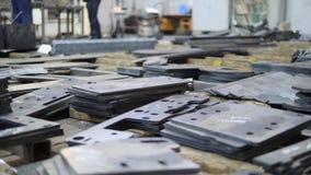 Anlage Technikproduktion stock video footage