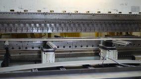 Anlage Technikproduktion stock footage
