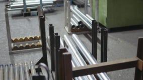 Anlage Technikproduktion stock video