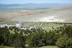 Anlage und Berg Stockbild