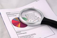 Anlagegutmischungs-Kreisdiagramm Lizenzfreie Stockfotografie