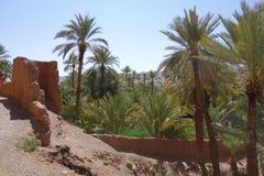 Anlagen, kleiner Bauernhof in Moroocco Stockbild