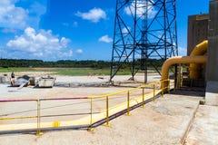 Anlagen von Ariane Launch Area 3 stockfotos