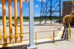 Anlagen von Ariane Launch Area 3 lizenzfreie stockbilder