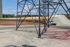 Anlagen von Ariane Launch Area 3 lizenzfreies stockbild