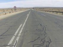 Anledningen av denna väg arkivbild