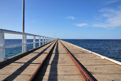 Anlegestelle Australien-Busselton Stockfotografie