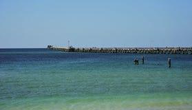 Anlegestelle Australien-Busselton Lizenzfreies Stockfoto