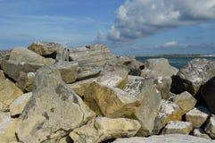 Anlegestellen-Felsen von Destin Lizenzfreies Stockfoto