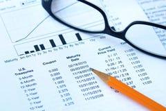 In Anleihen investieren lizenzfreie stockbilder