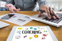 ANLEITUNG der Ausbildungsplanung, die Anleitungsgeschäfts-Führer Ins lernt vektor abbildung