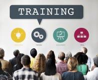 Anleitung der Trainings-Leistung, die Praxis-Konzept lernt stockfoto