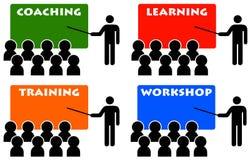 Anleitung und Ausbildung Lizenzfreie Stockfotos