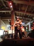 Anleitungs-Band-Staus auf Stadium bei Mai Tai Bar Stockfotos