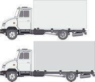 Anlieferung/Ladung-LKW stock abbildung