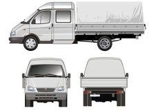 Anlieferung/Ladung-LKW vektor abbildung