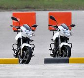 Anlieferungs-Fahrräder Stockfotos