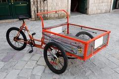 Anlieferungs-Fahrrad Lizenzfreie Stockfotografie